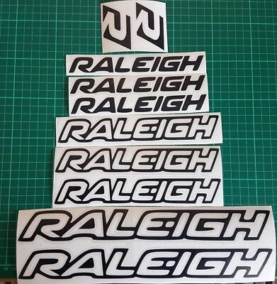 Raleigh Vinyl Decal Stickers Bike Frame Cycle CyclingMtb Road*COLOURS AVAILABLE*