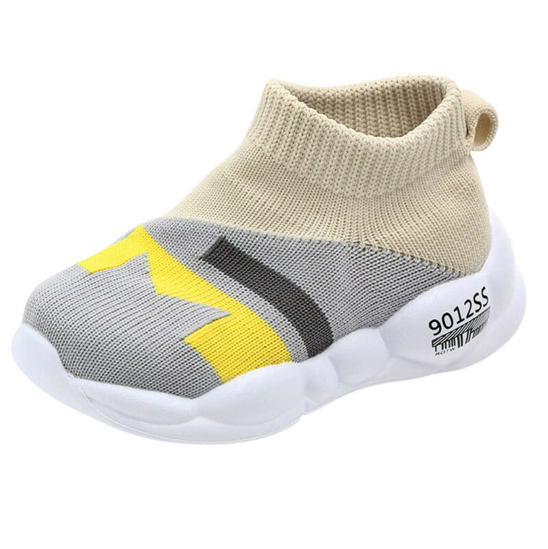 Toddler Kids Baby Girls Mesh Sole Sport Sneakers