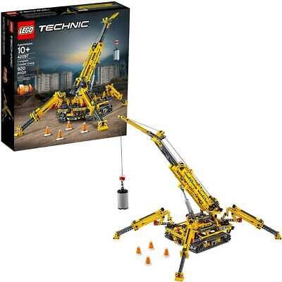 LEGO Technic Compact Crawler Crane 42097 Building Kit (920 Pieces), New