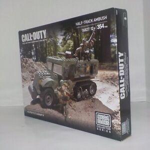 2014 Mega Bloks Call of Duty HALF TRACK AMBUSH 06827 New~Sealed Ages 12+