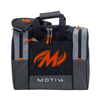 Motiv Shock BLACK/ORANGE 1 Ball Bowling Bag