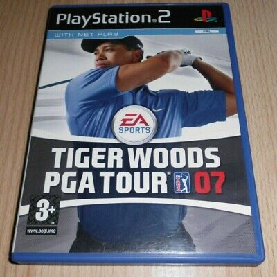 Used, Tiger Woods PGA TOUR 07...Playstation 2 Game for sale  Shipping to Nigeria