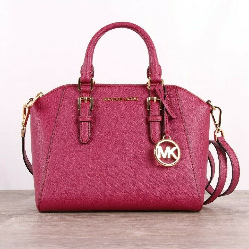 Michael Kors Medium CIARA Messenger Top Zip  Satchel Crossbo