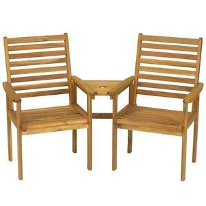 Garden seat ebay for Garden love seat uk