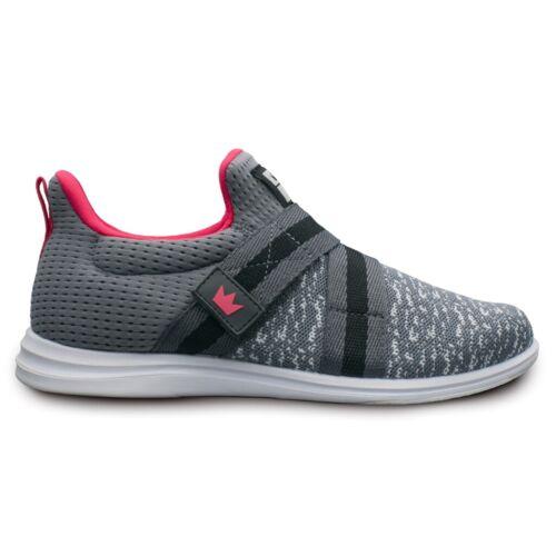 Brunswick Versa Grey/Pink Womens Bowling Shoes