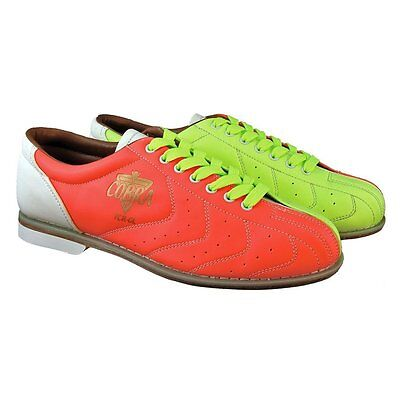 (Cobra Glow TCR-GL Yellow/Orange/White Mens Bowling Rental Shoes)