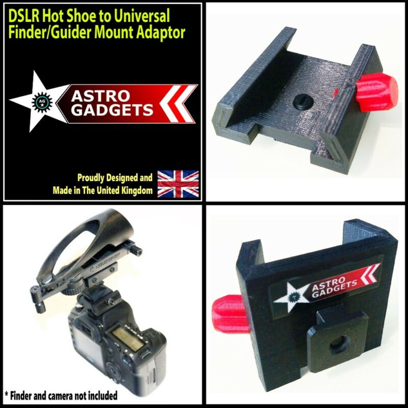 Universal Camera DSLR Hot Shoe to Finder / Red Dot Shoe Adapter