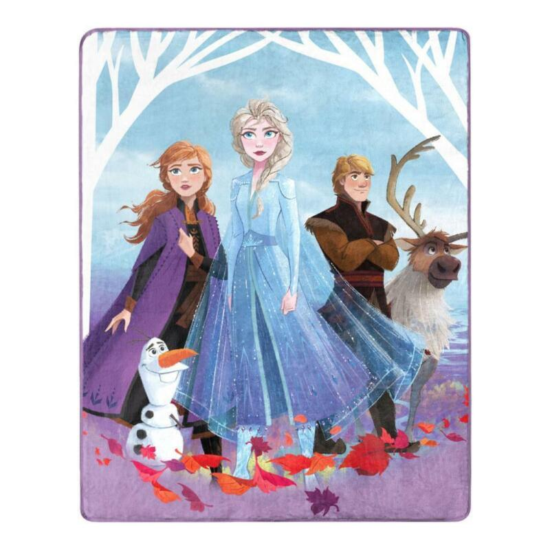 Frozen 2 Silk Touch Throw Blanket