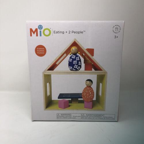 Manhattan Toy Company Mio Modular Wooden Building Set Playset