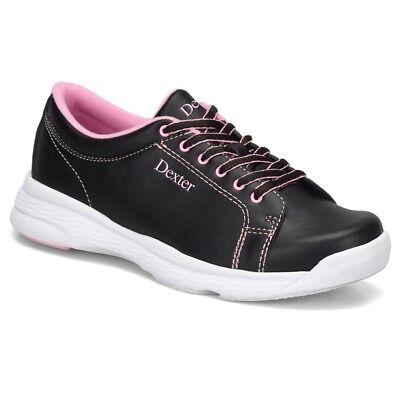 Dexter Raquel V Black/Pink Womens Bowling Shoes Dexter Bowling Shoes Women