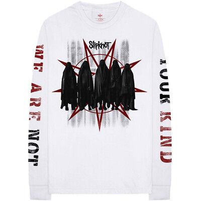 Slipknot 'Shrouded Group' (White) LS Shirt - NEW & OFFICIAL!