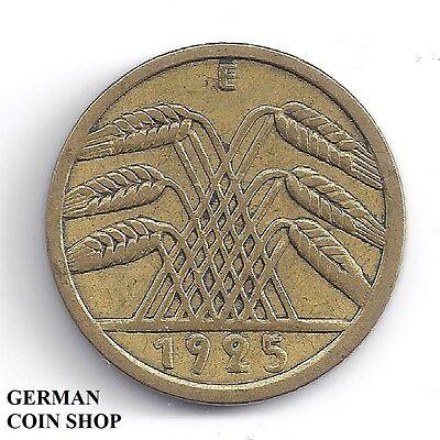 FEHLPRÄGUNG - Doppelprägung Rückseite 5 Reichspfennig 1925 E - SELTEN
