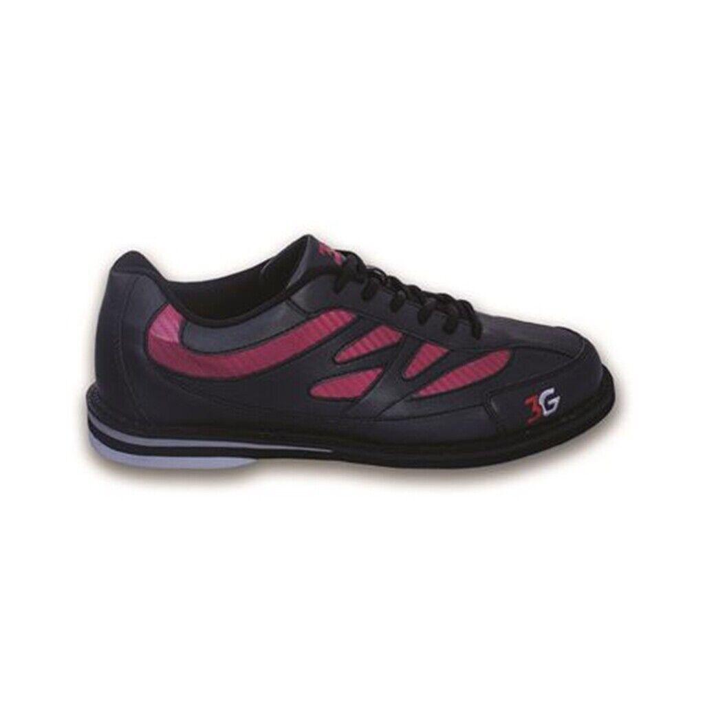 3G Cruze Black/Red Womens Bowling Shoes