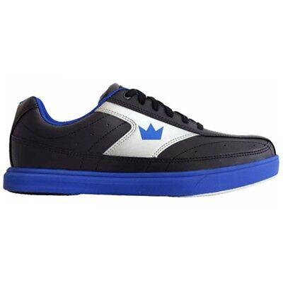 Brunswick Renegade Black/Blue Mens Bowling Shoes (Blue Mens Bowling Shoes)