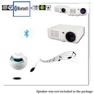 WIFI 3D 1080P 4800Lumens Projector Home Theater Cinema LED/LCD HD