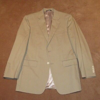 New Men's Jos. A. Bank Executive Poplin Collection Suit Jacket Size 40R Tan