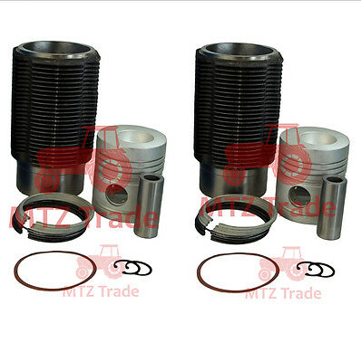 Belarus Tractor Engine Kit Liner Piston Rings Set 250 300 T25 Sidena Set
