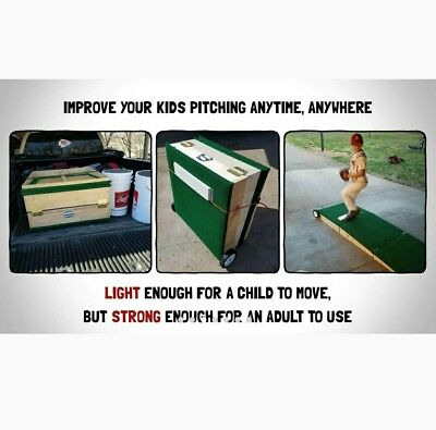(Tri-Fold Portable Pitching Mound! 8