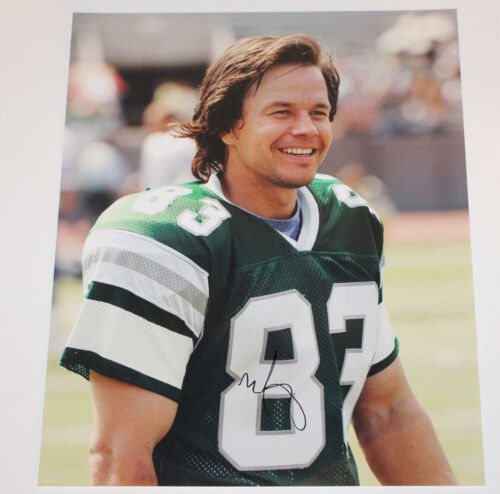 MARK WAHLBERG SIGNED 'INVINCIBLE' MOVIE 16x20 PHOTO w/COA PROOF VINCE PAPALE