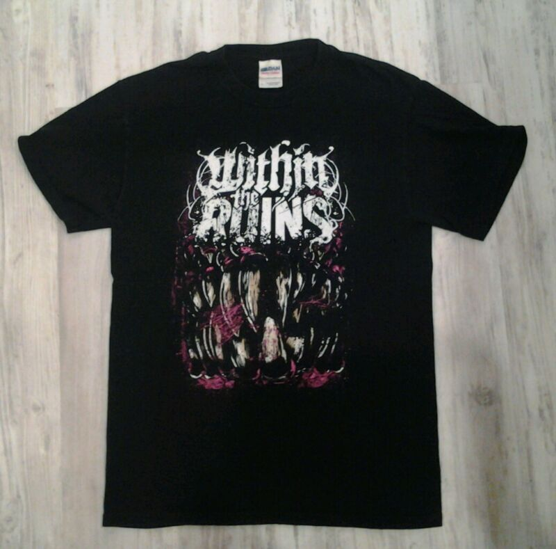 Within The Ruins deathcore 100% cotton  T-Shirt - black - Men's S