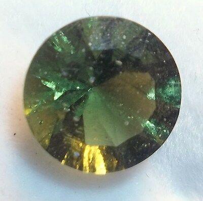 Moldavite - 1.75CT Average - 9MM Round Quantum Cut - Kadenze Collection