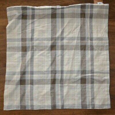 Pottery Barn Colin Plaid Pillow Cover 24