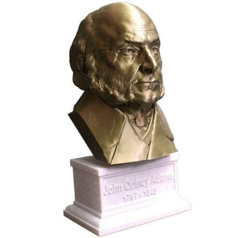 John Quincy Adams 12 inch 3D Printed Bust US President #6 Art FREE SHIPPING