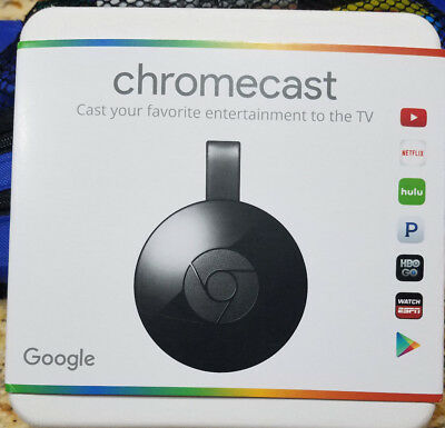 Brand New Sealed   Google Chromecast 2 Digital Hd Media Streamer 2Nd Generation