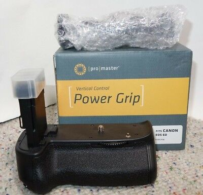Used, NEW Promaster Vertical Power Battery Grip for CANON EOS 6D #5118  for sale  Shipping to India