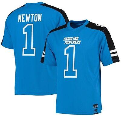 - Cam Newton Carolina Panthers NFL Mens Hashmark Jersey Blue Big & Tall Sizes