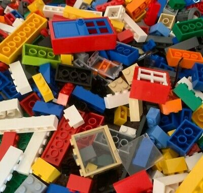 MIXED LEGO 600g Bulk Lot CLEAN Creative Kids Blocks 0.6 Kg