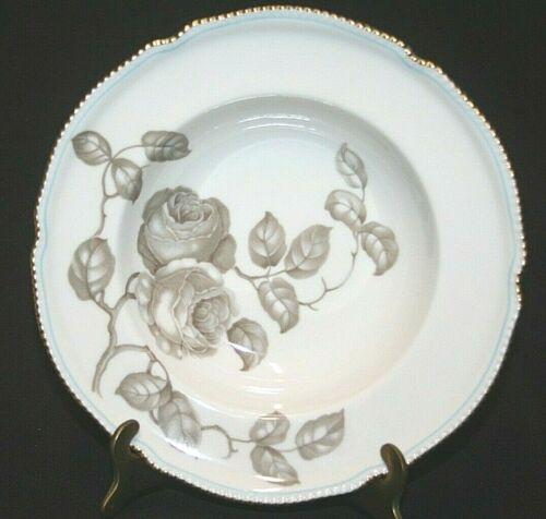 """Castleton """"Gloria"""" Dinner 8"""" Rimmed Soup Bowl Vintage Fine China"""