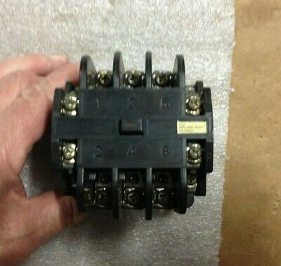 Fuji Magnetic Contactor Src 3631-5-2 Coil Voltage 200200-220v 5060 Hz