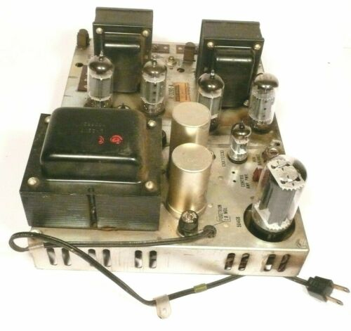 ROWE JAN / JAO part:  Tested / Working  STEREO TUBE  AMPLIFIER R-3390-A