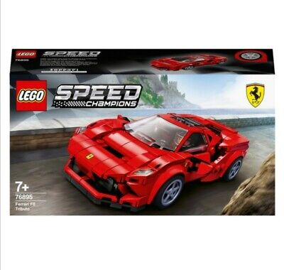 LEGO  Speed Champions Ferrari F8 Tributo Model Racing Car Building Toy Set
