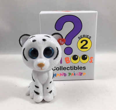 Ty Beanie Boos Mini Boo Series 2 Collectible Figure   Tundra The Tiger  2 Inch