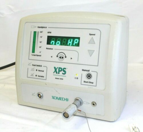 Xomed XPS MicroResector Console Model 2000, 18-96100 w/ Console Adapter
