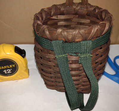 Used, MINI TRAP PACK BASKET, Decor, Cabin, trapping, traps, crafts for sale  Shipping to Canada
