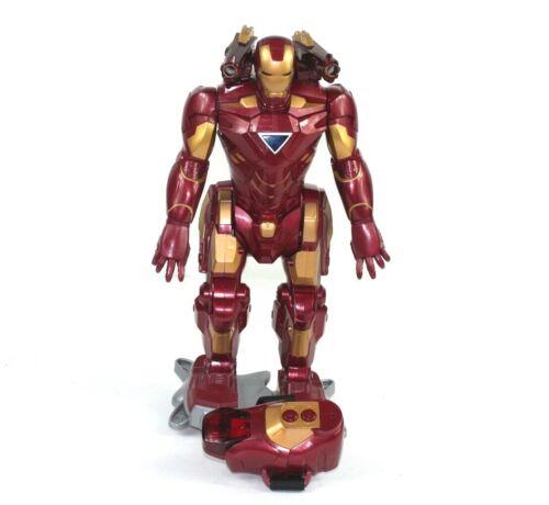 Iron Man 2 Walking Iron Man Toy Robot Remote Control Marvel 2010 Hasbro