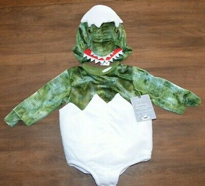 Pottery Barn Kids Baby Dinosaur Dino Egg Halloween Costume 6-12 Months NEW Cute