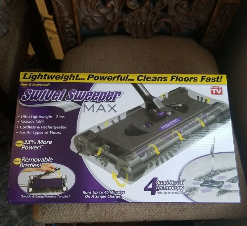 Swivel Sweeper Max Rechargeable Sweeper