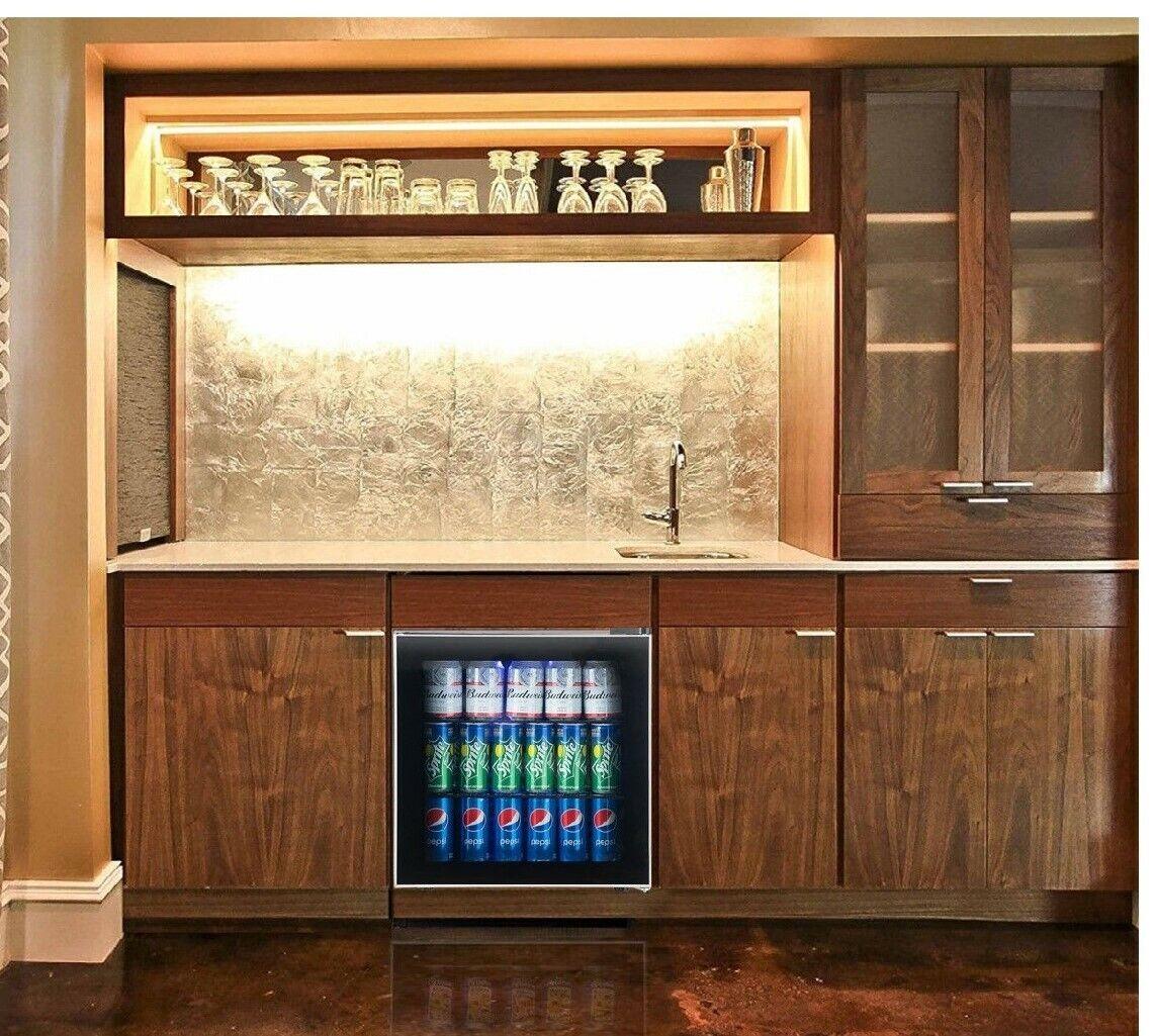 60can refrigerator personal mini fridge home bar