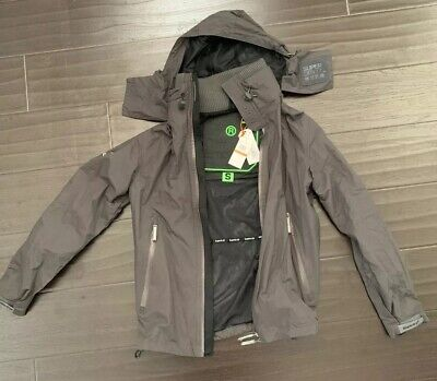 Superdry Cliff Emboss Hiker Jacket Gray - Men's Small S