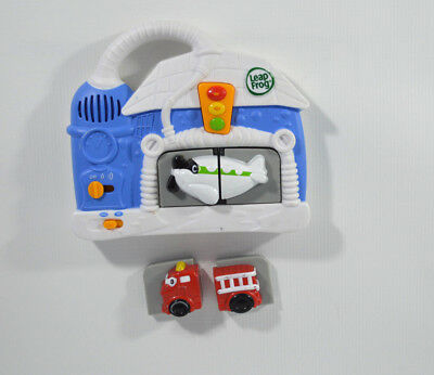 Kid Leap Frog Magnetic Plane and Fire Truck English or French Interactive Sounds