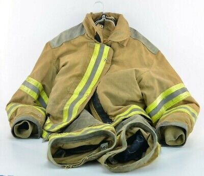 Janesville Firefighter Turn Out Jacket Pants - From Perry Township Ohio