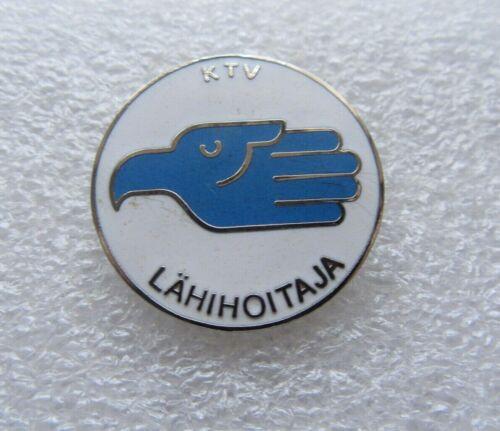 Finnish KTV Practical Nurse Badge Pin