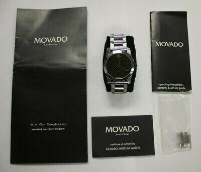 Movado Vizio 83 G1 1886.0 Carbon Fiber 8