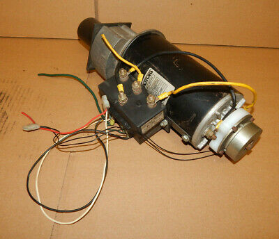 Scott Motors Permanent Magnet Motor Mga-02980 58 Hp Wravioli Te106c Contactor