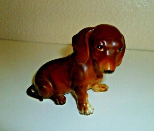 Lefton Dachshund Figurine