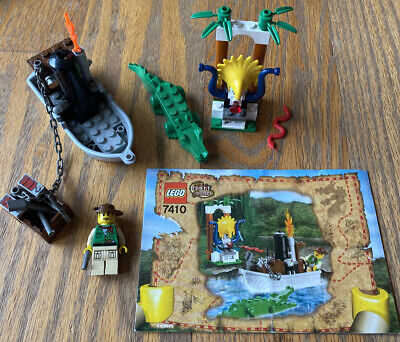 Lego Adventurers Orient Expedition Set 7410-1 Jungle River 100% Complete